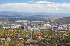 Prenájom auta Canberra, Austrália