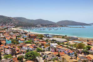 Prenájom auta Cabo Frio, Brazília