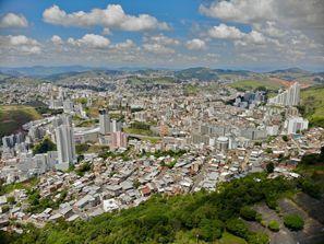Prenájom auta Juiz de Fora, Brazília
