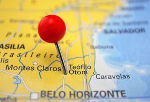 Prenájom auta Teofilo Otoni, Brazília