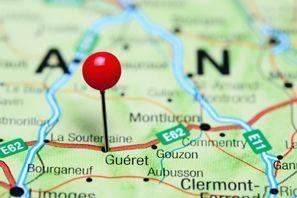 Prenájom auta Gueret, Francúzsko