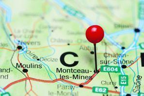 Prenájom auta Montceau-les-Mines, Francúzsko