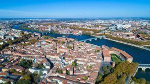 Prenájom auta Toulouse, Francúzsko